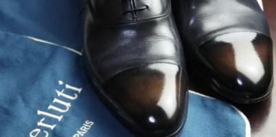 クロージング決めて ベルルッティ 靴2
