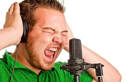 営業マン 発声練習