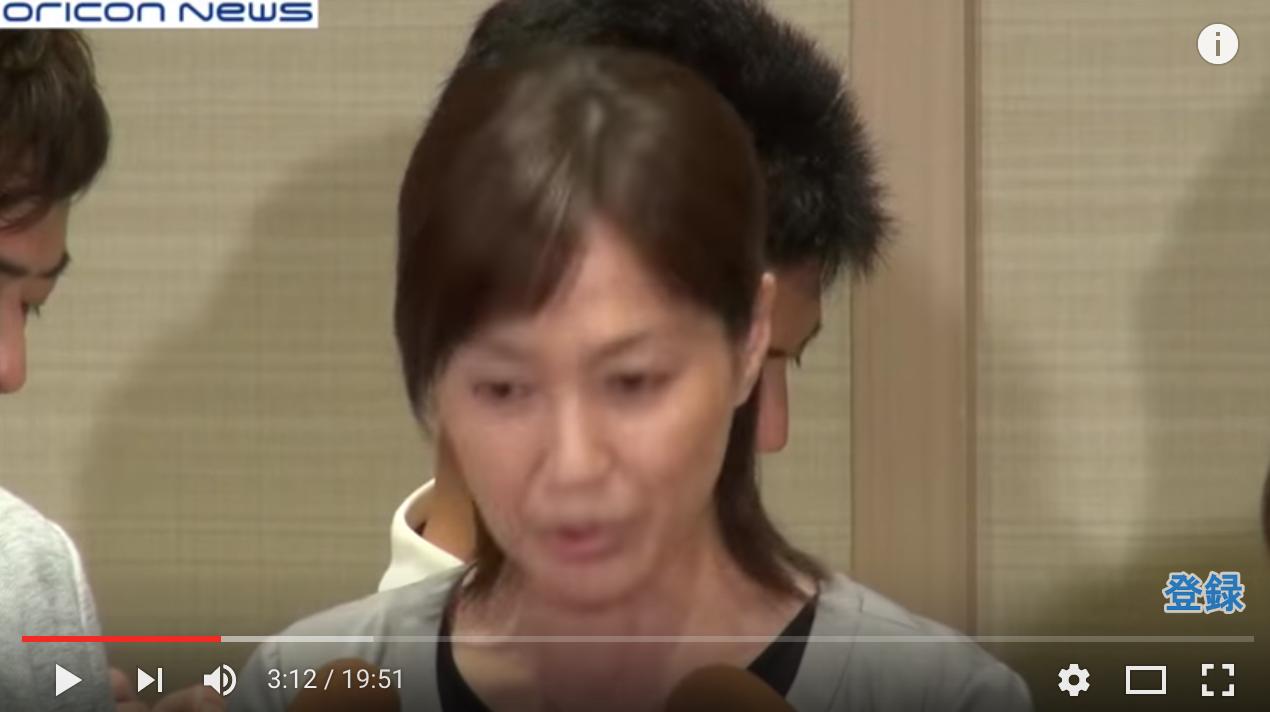 営業・プレゼン:高島礼子さん謝罪会見